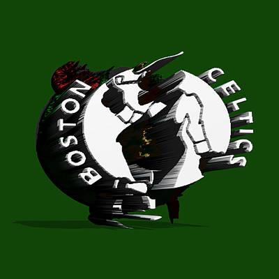 Boston Celtics Art Print by Brian Reaves