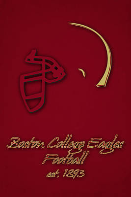 Boston College Eagles Print by Joe Hamilton