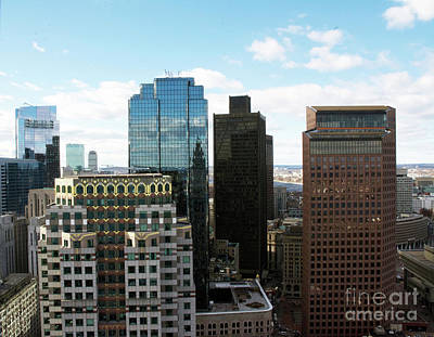 Photograph - Boston Financial District by Ruth H Curtis