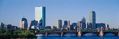 Longfellow Photograph - Boston, Massachusetts, Usa by Panoramic Images