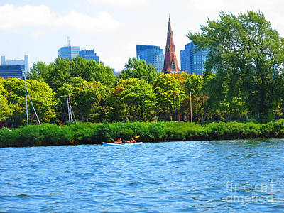 Photograph - Boston Rank Highest In Earth Water N Green Ratio Very Balanced Photo Navinjoshi Fineartamerica Pixel by Navin Joshi