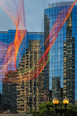 Photograph - Boston Reflections by Susan Candelario