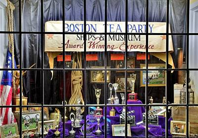 1776 Photograph - Boston Tea Party by Frozen in Time Fine Art Photography