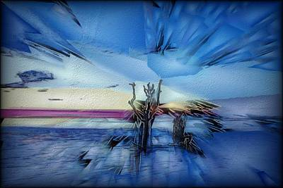 Digital Art - Botany Sunrise by Jon Glaser