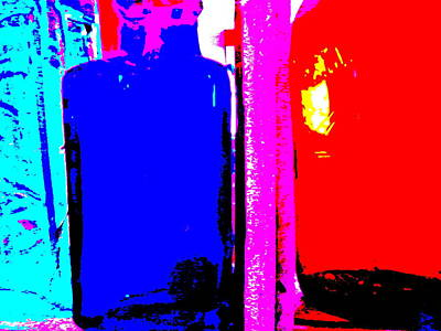 Photograph - Bottles 36 by George Ramos