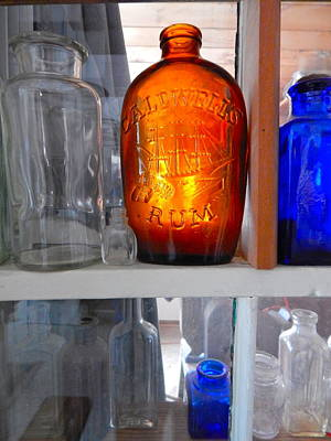 Photograph - Bottles 38 by George Ramos