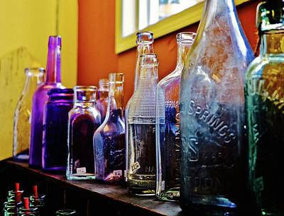Photograph - Bottles by Brian Sereda