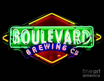 Photograph - Boulevard Brewing 2 by Kelly Awad