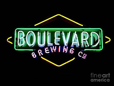 Photograph - Boulevard Brewing Co. by Kelly Awad