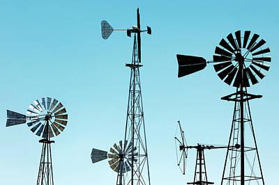 Photograph - Bountiful Windmills by Todd Klassy