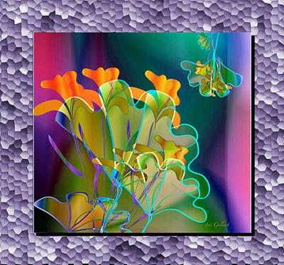 Digital Art - Bouquet by Iris Gelbart
