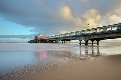 Slip Photograph - Bournemouth Pier - England by Joana Kruse