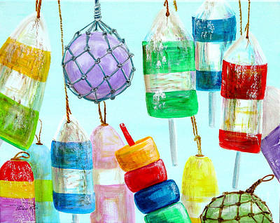 Bouys Painting - Bouys Iv by Pauline Ross