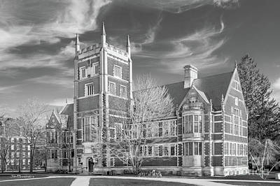 Photograph - Bowdoin College Hubbard Hall  by University Icons