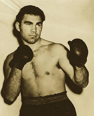 Photograph - Boxer Max Schmeling 1937 by William C Greene