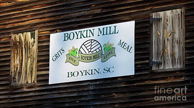 Photograph - Boykin Mill by Skip Willits