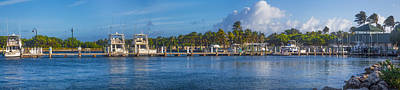 Photograph - Boynton Beach Inlet Harbor Panorama by Debra and Dave Vanderlaan