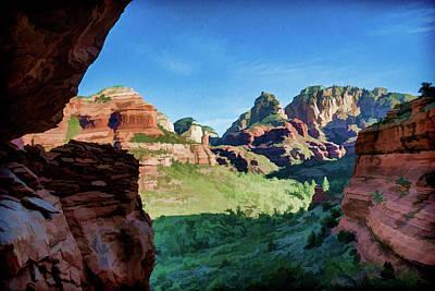 Photograph - Boynton Canyon 07-194 by Scott McAllister