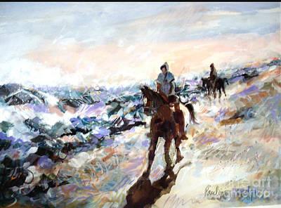 Painting - Bracing by Pauline Hauder