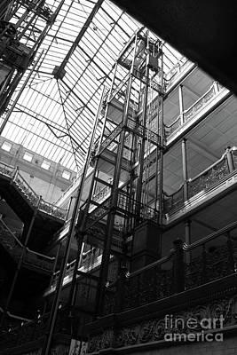 Photograph - Bradbury Building by Gregory Dyer