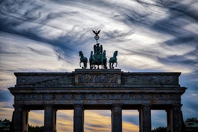 Photograph - Brandenberg Gate by Ross Henton