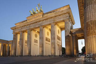 Brandenburg Gate Berlin Art Print by Julie Woodhouse