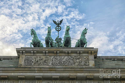 Photograph - Brandenburger Gate, Berlin by Patricia Hofmeester