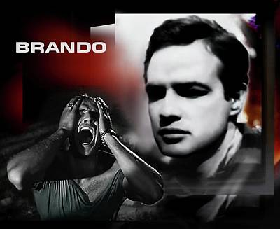 Digital Art - Brando by Hartmut Jager