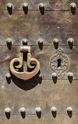 Photograph - Brass Door Knocker by David Letts
