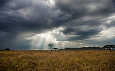 Wall Art - Photograph - Break In The Clouds by Adrian O Brien