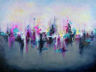 Painting - Breaking Boundaries  by Jenny Bagwill