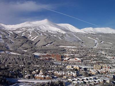 Colorado Ski Art Wall Art - Photograph - Breckenridge Powder Day by Michael J Bauer