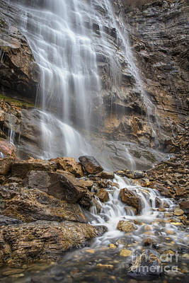 Photograph - Bridal Veil Falls by Spencer Baugh