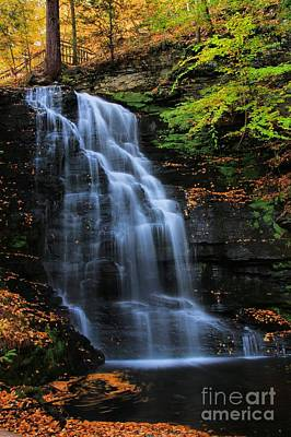 Photograph - Bridal Veil Falls Vertical by Matthew Winn