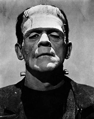 Photograph - Bride Of Frankenstein, Boris Karloff by Everett