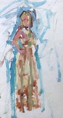 Painting - Bridesmaid by Carol Berning