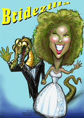 Patriotic Signs - Bridezilla by Kevin Middleton