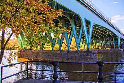 Photograph - Bridge Colors by Alice Gipson