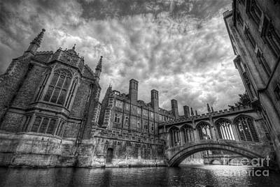 Photograph - Bridge Of Sighs - Cambridge by Yhun Suarez