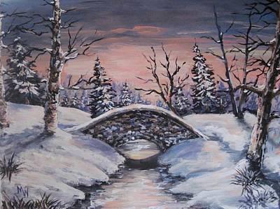 Bridge Of Solitude Art Print
