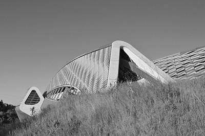 Photograph - Bridge Pavilion Zaragoza Spain by Marek Stepan