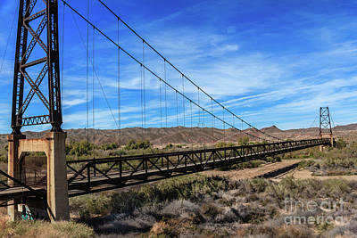 Photograph - Bridge To Nowhere by Robert Bales