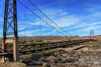 Photograph - Bridge To Nowhere by Robert Bales
