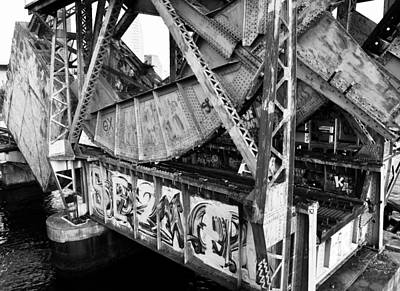 Photograph - Bridge Works by David Lee Thompson