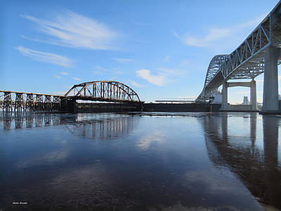 Duluth Photograph - Bridged by Alison Gimpel