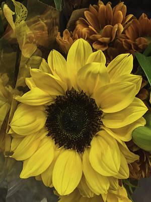 Bright Bouquet Art Print by Arlene Carmel