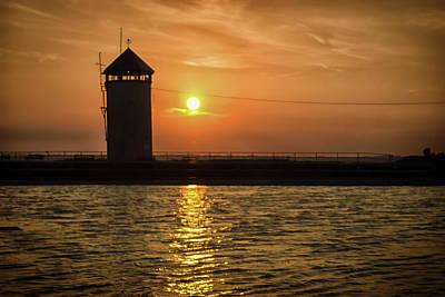 Brightlingsea Sunset Art Print