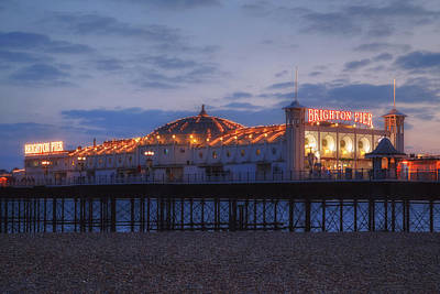 Pleasure Photograph - Brighton At Night by Joana Kruse