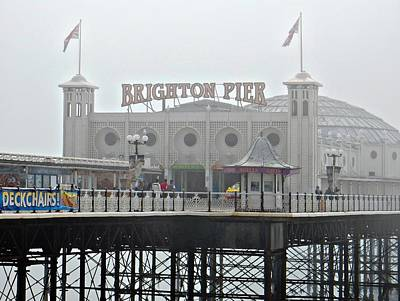Photograph - Brighton Pier by Dorothy Berry-Lound