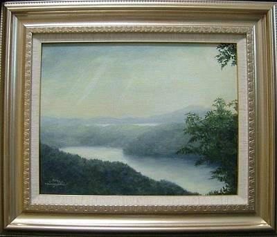 Landscapes Painting - Brilliance by Hiroyuki Suzuki